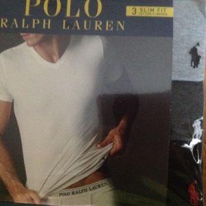 Polo Ralph Lauren Slim Fit Tees Gray Tones 3pk XL